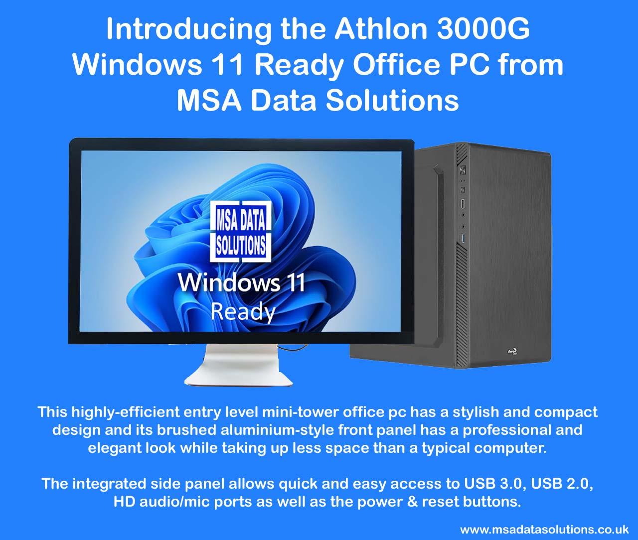 Athlon 3000G Office Computer